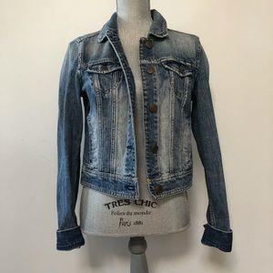 American Eagle cropped denim jacket